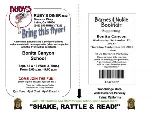 Ruby's/Barnes & Noble Shake, Rattle & Read Nights @ Ruby's Diner